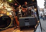 Die Band M.T. Kens an der letztjährigen Jazz Night. (Bild: Werner Schelbert, Zug, 24. August 2018)