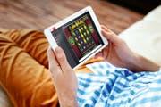 Blick auf das Online-Angebot des Casinos Luzern. (Bild: PD)