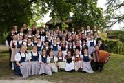 Proben seit Monaten für ihr Konzert: die Obwaldner Jung-Juizer. (Bild: PD, Sachseln, 17. Mai 2019)