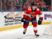 Neuer NHL-Vertrag für die kommende Saison: Denis Malgin bleibt den Florida Panthers treu (Bild: KEYSTONE/FR170673 AP/JOEL AUERBACH)