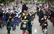 Die grosse Parade musste 2017 gestrichen werden. (Bild: Peter Kaeser - 6. September 2015)