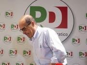 Pokert hoch bei den Koalitionsverhandlungen mit den Cinque Stelle: Partito-Democratico-Chef Nicola Zingaretti. (Bild: KEYSTONE/EPA ANSA/RAFFAELE VERDERESE)