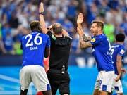 Die Schalker reklamierten gegen Bayern zweimal vergeblich einen Handspenalty (Bild: KEYSTONE/AP/MARTIN MEISSNER)