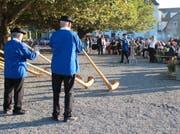 Eine von vielen Veranstaltungen des Horner Kreises: Ein Auftritt der Alphorngruppe Bodensee. Bild: PD