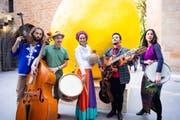 Die Gruppe Mira Mundo spielt am Festival. (Bild: Lucerne Festival)