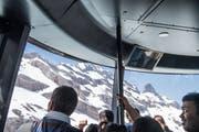 Für die Besucher der beiden Bergbahnen ändert der neue Vertrag nichts. Im Bild die Titlis Rotair. (Bild: Nadia Schärli, Engelberg, 27. Juli 2019)