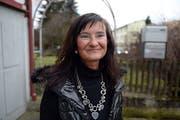 Gaby Coray kandidiert für den Ständerat. Die Parteilose kandidierte auch schon für den Regierungsrat oder wollte mal Bundesrätin werden. (Bild: Nana do Carmo, 22. Januar 2014)