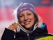 Ilka Stuhec kann wieder auf Schnee trainieren (Bild: KEYSTONE/AP/GABRIELE FACCIOTTI)