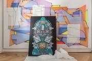 Graffiti und andere angewandte Kunst findet Platz im «Haus zur Ameise».