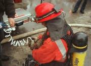 1999 rettete ein Gossauer Feuerwehrmann eine Katze. (Bild: Roger Ackermann)