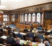 Der Kantonsrat wird heute im Proporz (Herisau) und im Majorz (übrige Gemeinden) gewählt. Bild: Ralph Ribi (8. Mai 2017)