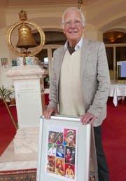 Otto Odermatt organisiert seit über 25 Jahren indische Konzerte im Hotel Sonnenberg.Bild: Christoph Näpflin (Seelisberg, 25. Mai 2019)
