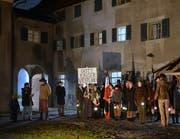 Die Tobler Komturei war selber schon Filmkulisse. 2015 drehte Peter Greenaway im Hinterthurgau Szenen seines Films «Walking to Paris». (Bild: Christoph Heer)