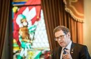 Finanzdirektor Jakob Stark setzte sich im Grossen Rat mit seinem Steuerpaket durch. (Bild: Reto Martin)