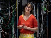 Die Astronomin Anne Verhamme erhält den diesjährigen Marie Heim-Vögtlin-Preis des Nationalfonds. (Bild: SNF / Cornelia Vinzens)