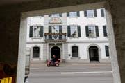 Die bürgerliche Mehrheit war im Frauenfelder Rathaus mit der Vorlage einverstanden. Die Linken kritisierten die «grösste Steuersenkung der Geschichte im Thurgau» als unausgewogen. (Bild: Donato Caspari)