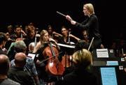 Einmal mitten unter den Musikern zuhören: Beim «40min»-Format geht das.Bild: Peter Fischli/LF (Luzern, 27. August 2019)