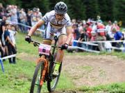 Olympiasiegerin Sabine Spitz kündigte ihren Rücktritt an (Bild: KEYSTONE/GIAN EHRENZELLER)