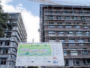 In der Schweiz dürfte laut einer Studie der Credit Suisse auch dieses Jahr die Zahl leerstehender Wohnungen gestiegen sein - aber langsamer als in den Vorjahren. (Bild: KEYSTONE/SALVATORE DI NOLFI)