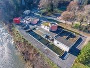 Die ARA Mühlewies in Bütschwil liegt an der Thur. Am Freitagnachmittag kann man die Anlage besichtigen. (Bild: Gemeinde Bütschwil-Ganterschwil)