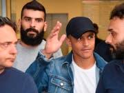Alexis Sanchez bei seiner Ankunft in Mailand (Bild: KEYSTONE/AP ANSA/DANIEL DAL ZENNARO)