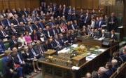 Schon bald in den Zwangsferien – das britische Parlament. Bild: Keystone