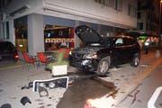 Am Auto entstand Totalschaden. (Bild:PD)