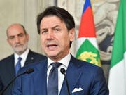 Der designierte Ministerpräsident Giuseppe Conte will «eine neue Menschlichkeit» in die Politik des Landes tragen. (Bild: KEYSTONE/EPA ANSA/ALESSANDRO DI MEO)