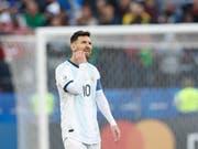 Lionel Messi warf dem Kontinentalverband Korruption vor (Bild: KEYSTONE/AP/VICTOR R. CAIVANO)