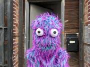 Das Cookie Monster ist als eines der zentralen Themen in der Ausstellung «Honky Tonk Calamity >< Ms. Fortune on the Links» von US-Künstler Stefan Tcherepnin vertreten. (Bild: Kunsthalle Zürich)