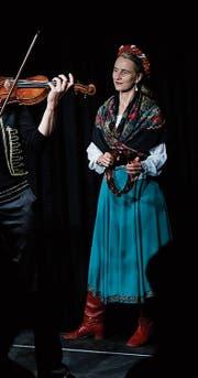 Die vier Damen von der Puszta Company rissen ihr Publikum mit einem feurigen Musikbouquet mit.Bild: Stefan Kaiser (Baar, 29. August 2019)