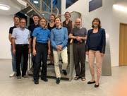 Die Gründungsmitglieder der Genossenschaft Energie Malters. (Bild: PD)