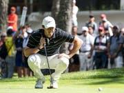 Rory McIlroy geht mit nur einem Schlag Rückstand auf die Spitze ins Wochenende (Bild: KEYSTONE/ALEXANDRA WEY)