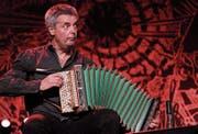 Albin Brun mit seinem Schwyzerörgeli. (Bild: Marcel Meier/Jazz Festival Willisau)