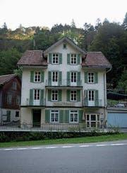 Das Gasthaus Grünenwald: Aussenansicht des über 100-jährigen Hauses. (Bild: Corinne Glanzmann)