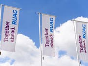 Sonderkosten für Teilprivatisierung drücken Ruag-Gewinn. (Bild: KEYSTONE/ANTHONY ANEX)