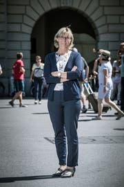Polizeiverbandspräsidentin Johanna Bundi Ryser