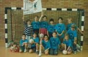 Das erste Team der BSG Vorderland im Jahr 1994. (Bild: PD)