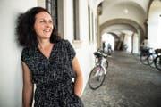 Ines Weizenegger war Geografin, Unternehmensberaterin und Textilhändlerin, bevor sie sich für den Lehrerberuf entschieden hat. (Bild: Boris Bürgisser, Luzern, 30. August 2019)