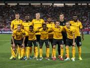 Die Young Boys können sich auf attraktive Gegner in der Europa League freuen (Bild: KEYSTONE/THOMAS HODEL)