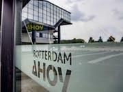 Die Wahl ist entschieden: Der Eurovision Song Contest 2020 wird in der «Rotterdam Ahoy»-Halle in Rotterdam ausgetragen. (Bild: Keystone/EPA ANP/ROBIN UTRECHT)