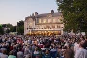 Stimmungsvoll: Das Open Air des St.Galler Sinfonieorchesters. (Bild: Hanspeter Schiess (30.August 2019))