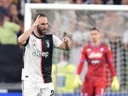 Gonzalo Higuain sollte ursprünglich abgeschoben werden, nun traf er für Juventus im Spitzenspiel (Bild: KEYSTONE/EPA ANSA/ALESSANDRO DI MARCO)