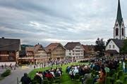 Für das 500-Jahr-Jubiläum der beiden Appenzeller Kantone schrieb Paul Steinmann 2013 das Festspiel «Der dreizehnte Ort», das in Hundwil aufgeführt wurde. (Bild: Martina Basista)