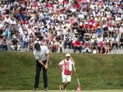 Abertausende von Golffans verfolgen den Superstar Rory McIlroy auf den Fairways und Greens von Crans-Montana (Bild: KEYSTONE/ALEXANDRA WEY)