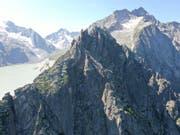 Die Besteigung der Fiamma in Vicosoprano GR endetete für eine 30-jährige Deutsche am Samstag tödlich. (Bild: Kantonspolizei Graubünden)