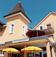Das Restaurant Profumo di Helvetia wird zum Mordschauplatz. (Bild: Hannelore Bruderer)