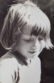 Felix Gmür als Achtjähriger im Lager. (Bild: PD)