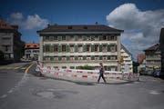Galt zu seiner Zeit als grösstes Privathaus der Schweiz: Der Fünfeckpalast in Trogen. (Bild: Benjamin Manser / TAGBLATT)