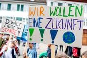 Über 1,5 Millionen Klimastreikende gingen am 15. März dieses Jahres weltweit auf die Strasse. (Bild: Keystone)